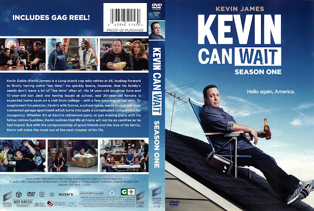 Kevin Can Wait Season 1 DVD Cover