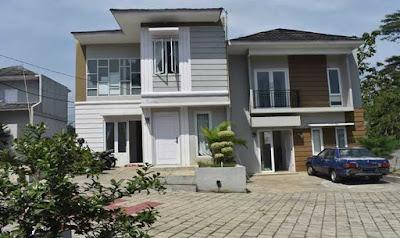 Suasana Depan Algira 6 Dramaga Guest House