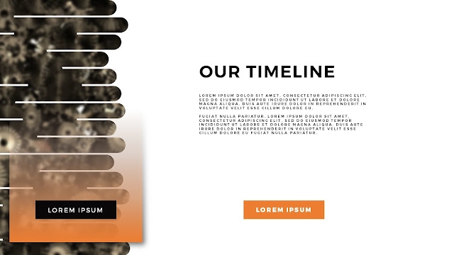 Free Horizontal Business Timeline PowerPoint Template Slide Title