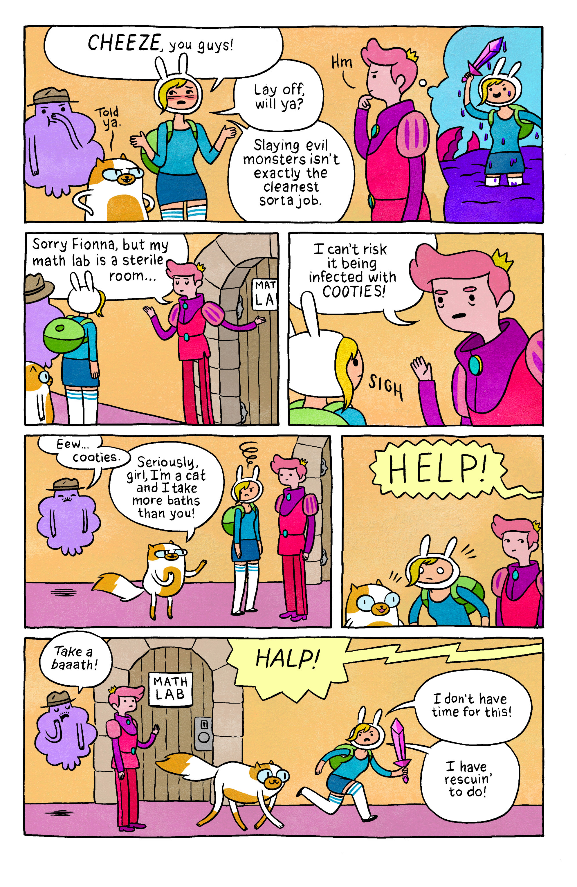 Read online Adventure Time with Fionna & Cake comic -  Issue #2 - 26