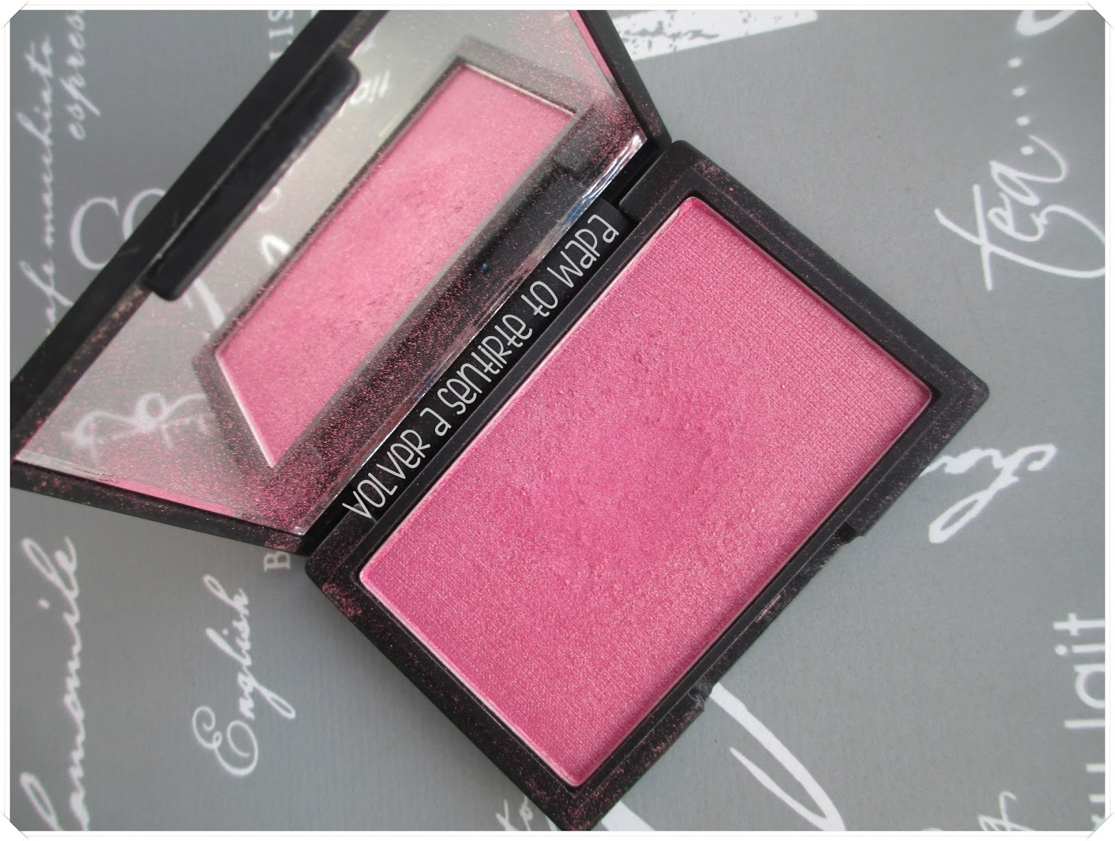 Colorete Mirrored Pink de Sleek