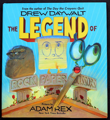 The Legend of Rock Paper Scissors by Drew Daywalt- This hilarious picture book will surely become a favorite classroom read-aloud!