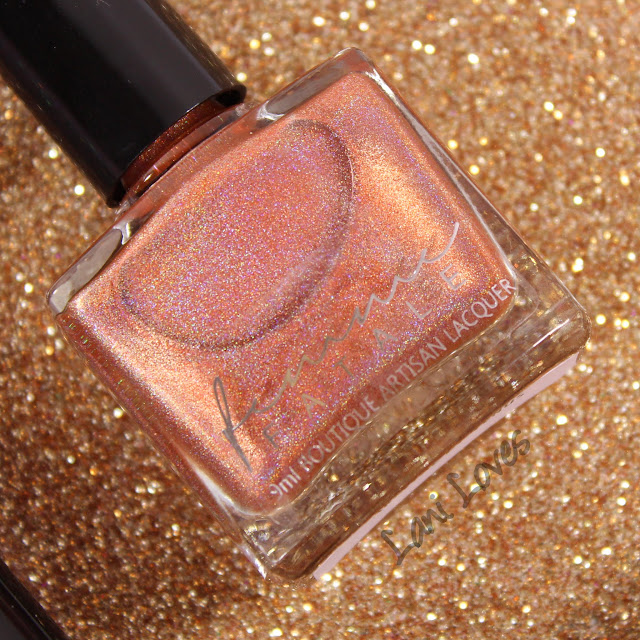 Femme Fatale Birth of Venus Swatches & Review