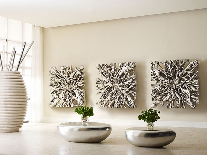 Large Silver Wall Decor: LET'S STAY: Cool 3D Wall Art And Wall Decor Ideas