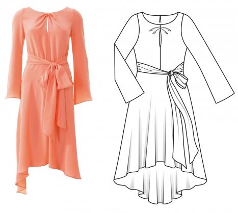 Burda nisan 2016 elbise