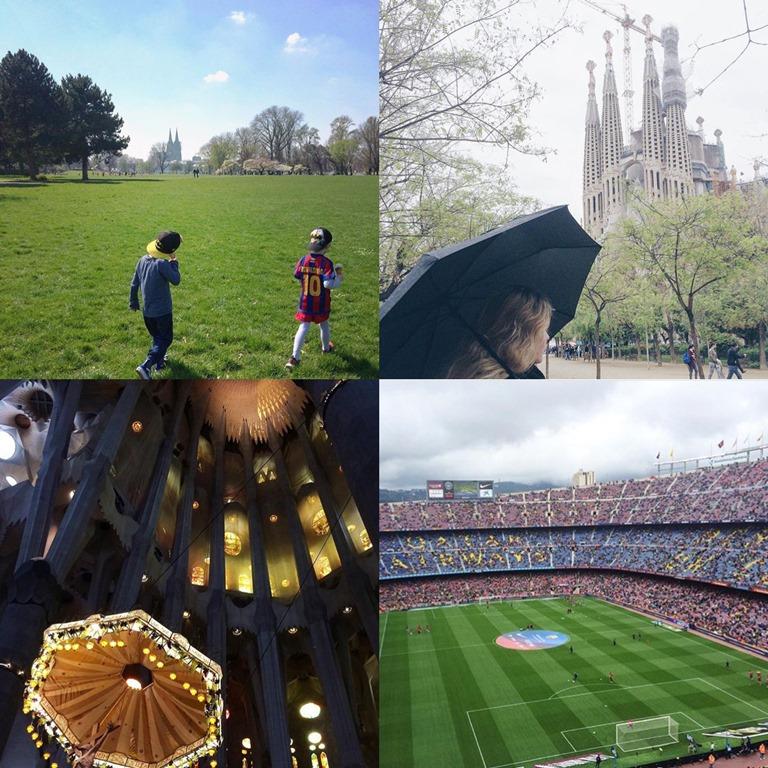 Jahresrücklick 2016, Frollein Pfau, Kölner Blogger, Rheinpark Köln, La Sagrada Familia Barcelona, Gaudi, Camp Nou