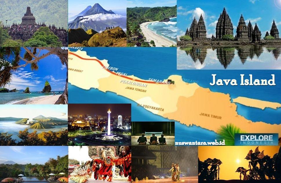 Java Island - Pulau jawa sebagai pulau terbaik di dunia