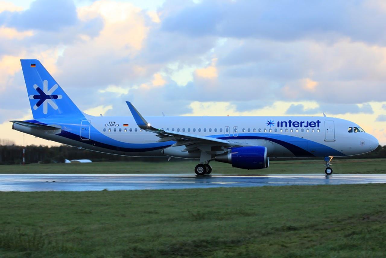 Airbus Hamburg Finkenwerder News A320 214sl Interjet D