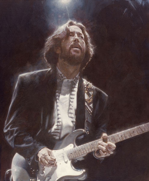 Eric Clapton - Nuevo Realismo Pop - Sebastian Krüger 1963
