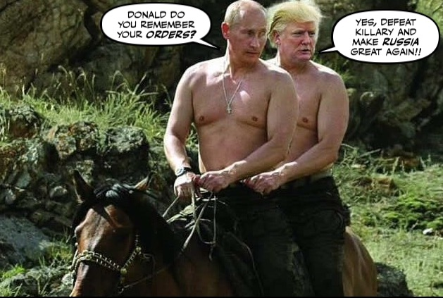 As we know Donald Trump has a cozy relationship with the Russian ...