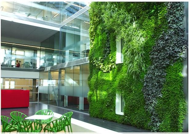 10 ideas para jardines verticales - Como hacer un jardin vertical de interior ...