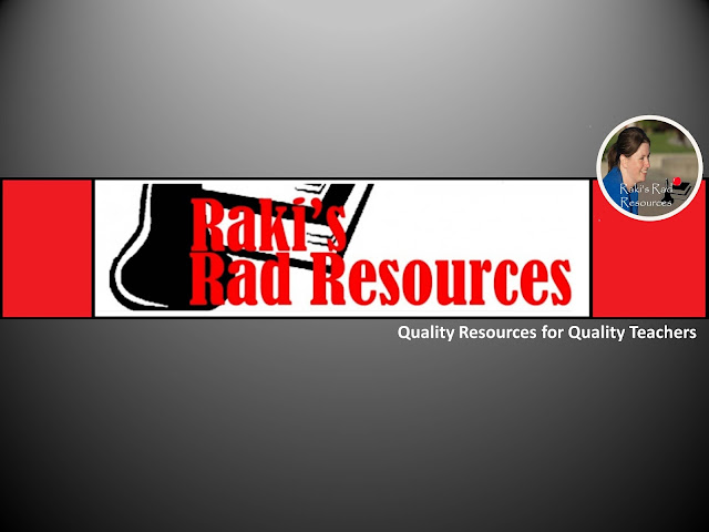 New blog for Raki's Rad Resources