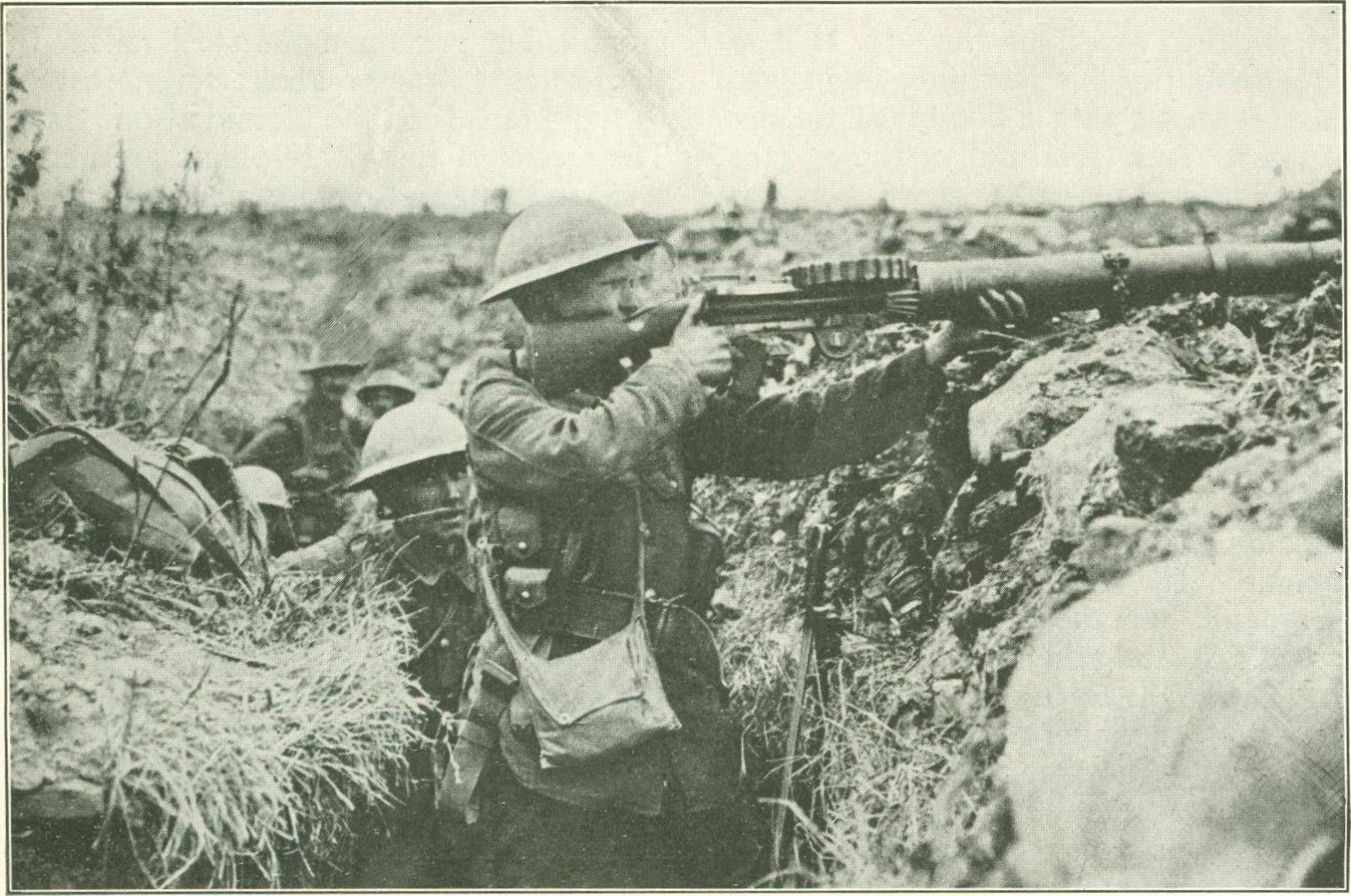 Ud Study Abroad >> digital history project: Lewis Machine Gun in World War I