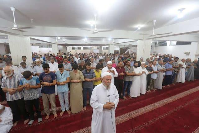 Terharu, Ratusan Muslim Palestina Di Gaza Shalat Ghaib Dan Doakan Korban Gempa Lombok
