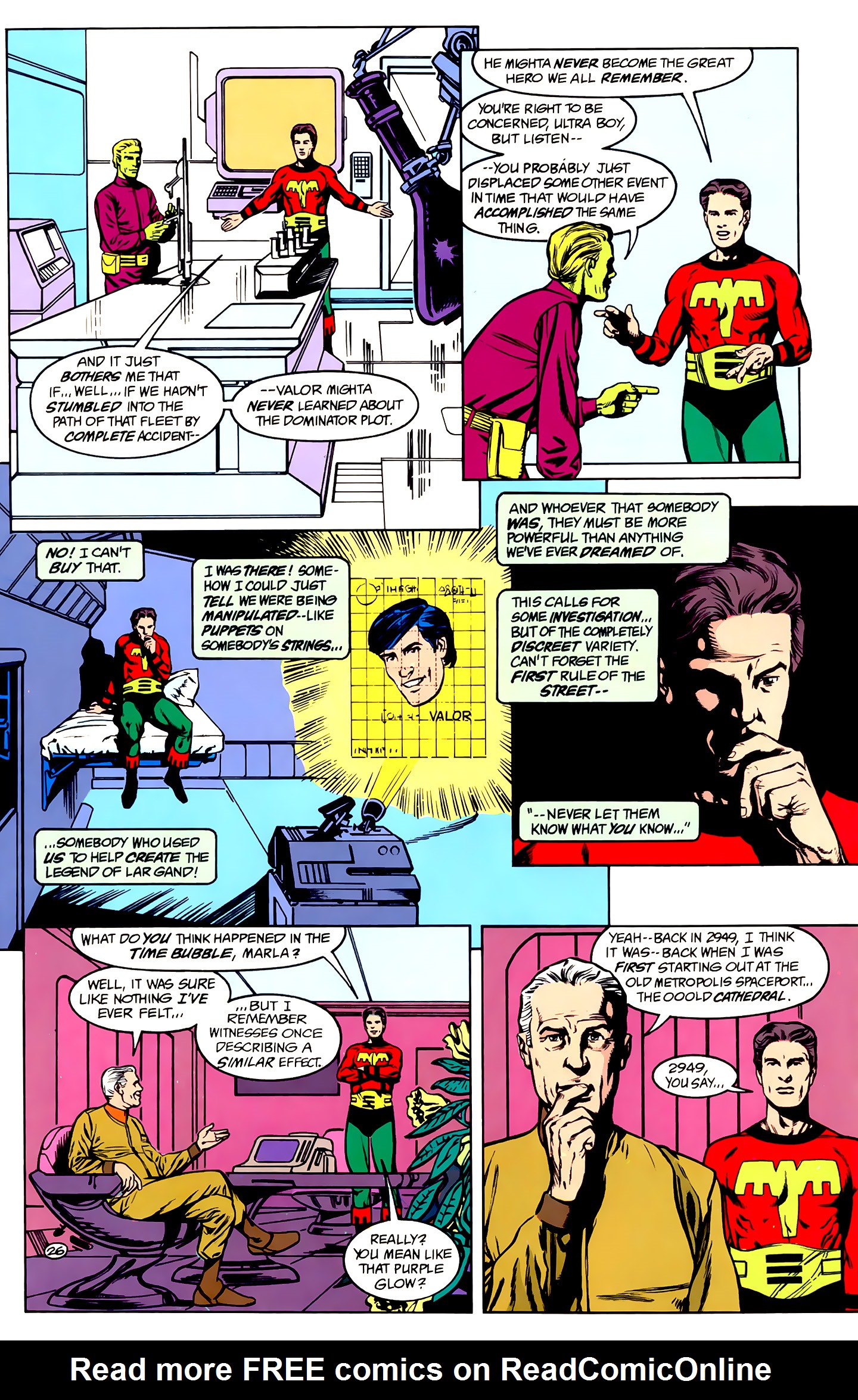 Legion of Super-Heroes (1989) _Annual_1 Page 26