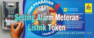 Cara Merubah Setting Alarm MCB Meter Digital pada Listrik Prabayar