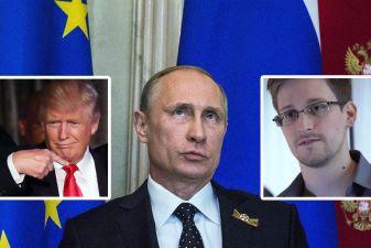 Vladimir Putin, Donald Trump, Edward Snowden, Whitleblower, NSA, Foreign,