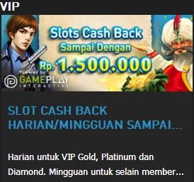 W88 || SLOT CASH BACK HARIAN/MINGGUAN SAMPAI DENGAN RP. 1.500.000 || W88TIP.COM