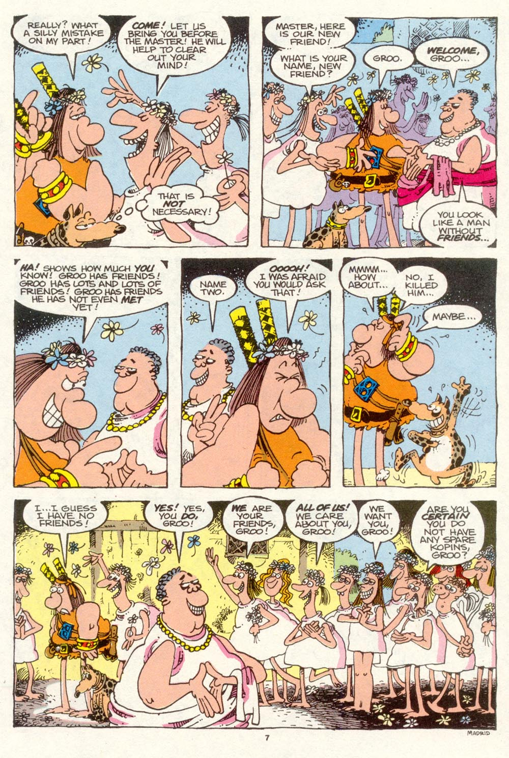 Read online Sergio Aragonés Groo the Wanderer comic -  Issue #89 - 8