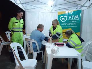 Campanha 'Acorda Motorista' alerta caminhoneiros sobre riscos de acidentes ao dirigir com sono