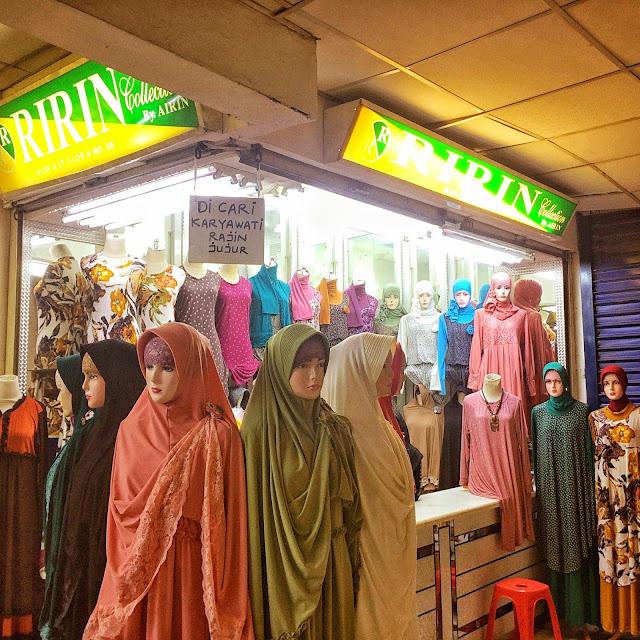 インドネシア(ジャカルタ)のヒジャブ大規模市場