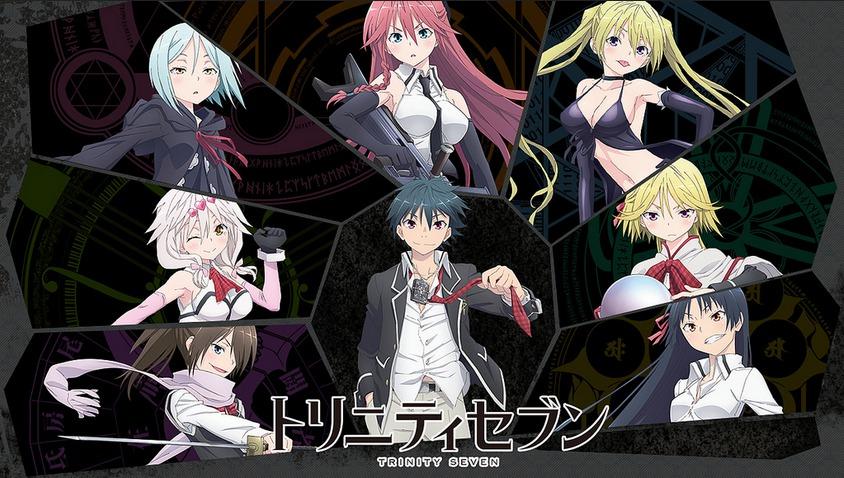 Action Comedy Ecchi Fantasy Harem Magic Romance School Shounen Supernatural