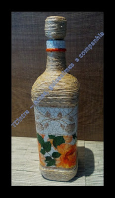 artesanato com garrafas de vinho; ARTESANATO; DECORAÇÃO com garrafas; DECOUPAGEM; FAÇA VOCÊ MESMO; GARRAFAS; MOSAICO; RECICLAGEM; casca de ovo; decoupagem em garrafas; sisal; reciclar; lixo é luxo
