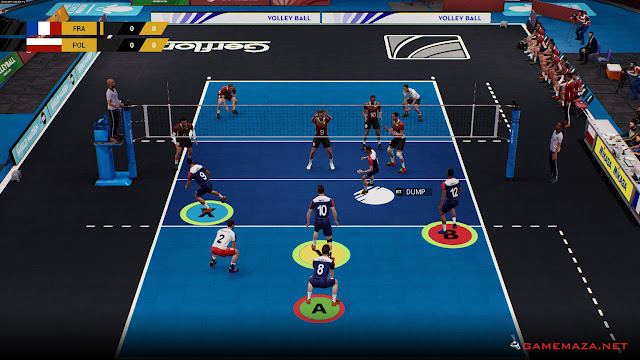 Spike Volleyball Gameplay Screenshot 3