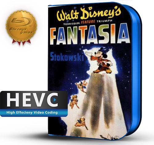 Fantasía (1940) 1080P HEVC-8Bits BDRip Latino/Ingles (Subt.Esp)(Animación, Familiar)