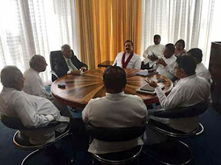 No sooner Anusha - Lalith were jailed ... Mahinda and Joint Opposition rush to meet Ranil  -- hospitalised without rigorous imprisonment