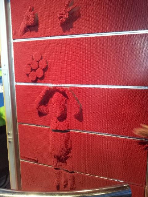 Pared de clavos en papalote museo - Clavos para pared ...
