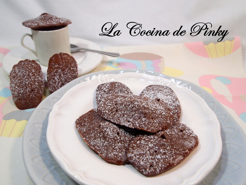 Madeleines De Cacao Y Sidra