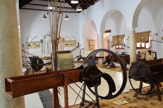 Salas del museo etnográfico de Medina Sidonia