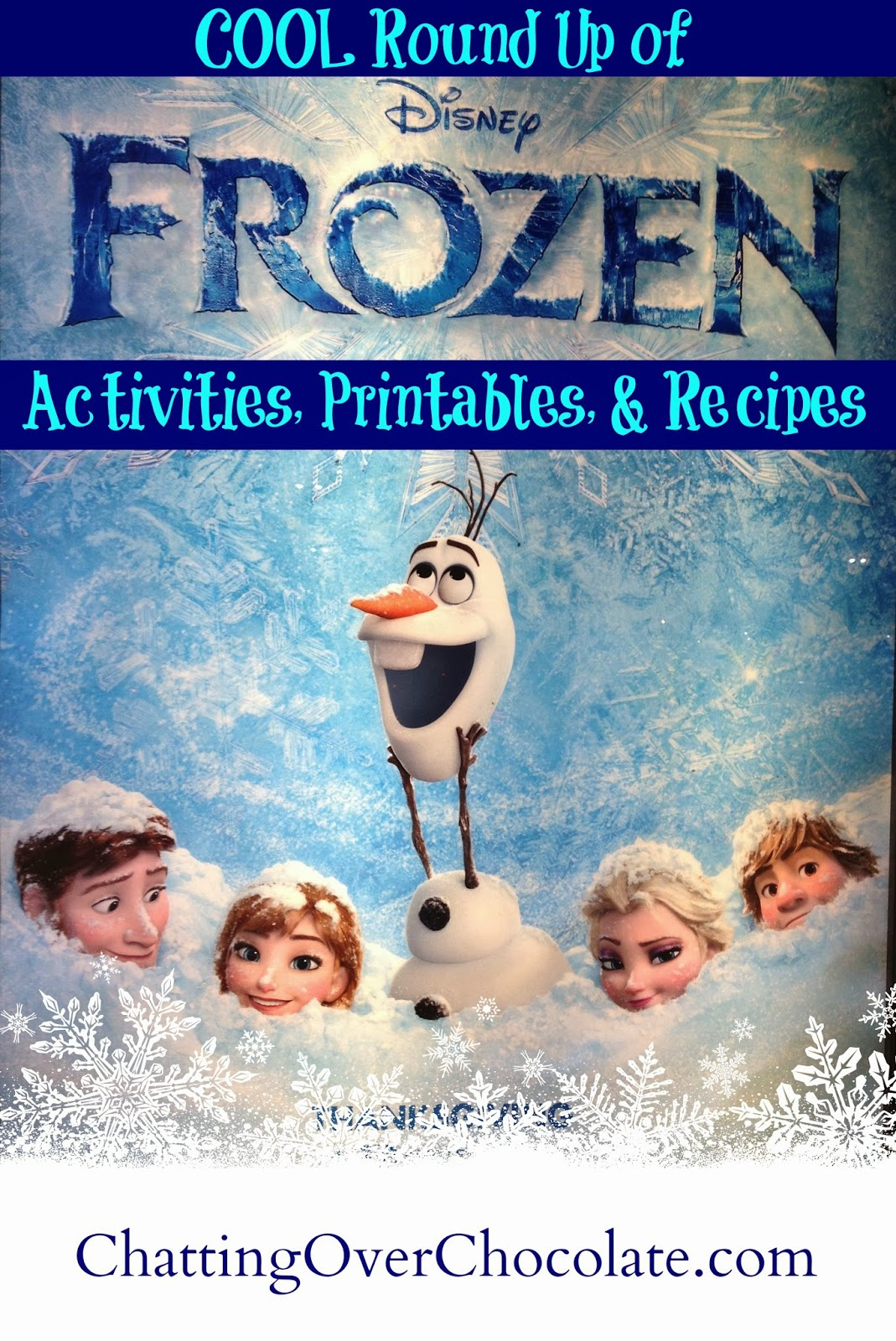 Chatting Over Chocolate Cool Round Up Of Activities Printables Amp Recipes Inspired By Disney