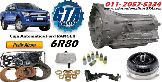 reparacion de Caja automática Ford Ranger 3.2