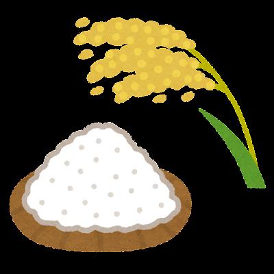 米粉のイラスト