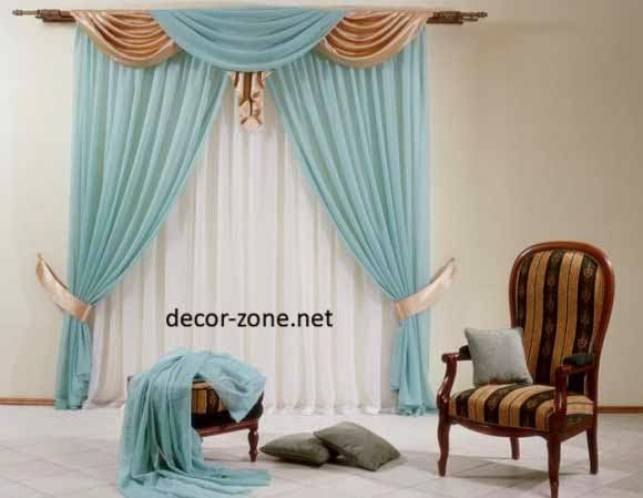 turquoise window curtains for living room