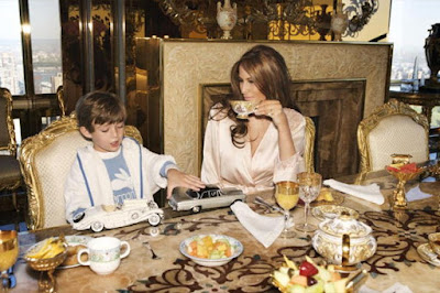 โต๊ะทานอาหรของภรรยาโดนัล ทรัมป์