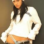 Andrea Rincon, Selena Spice Galeria 19: Buso Blanco y Jean Negro, Estilo Rapero Foto 65