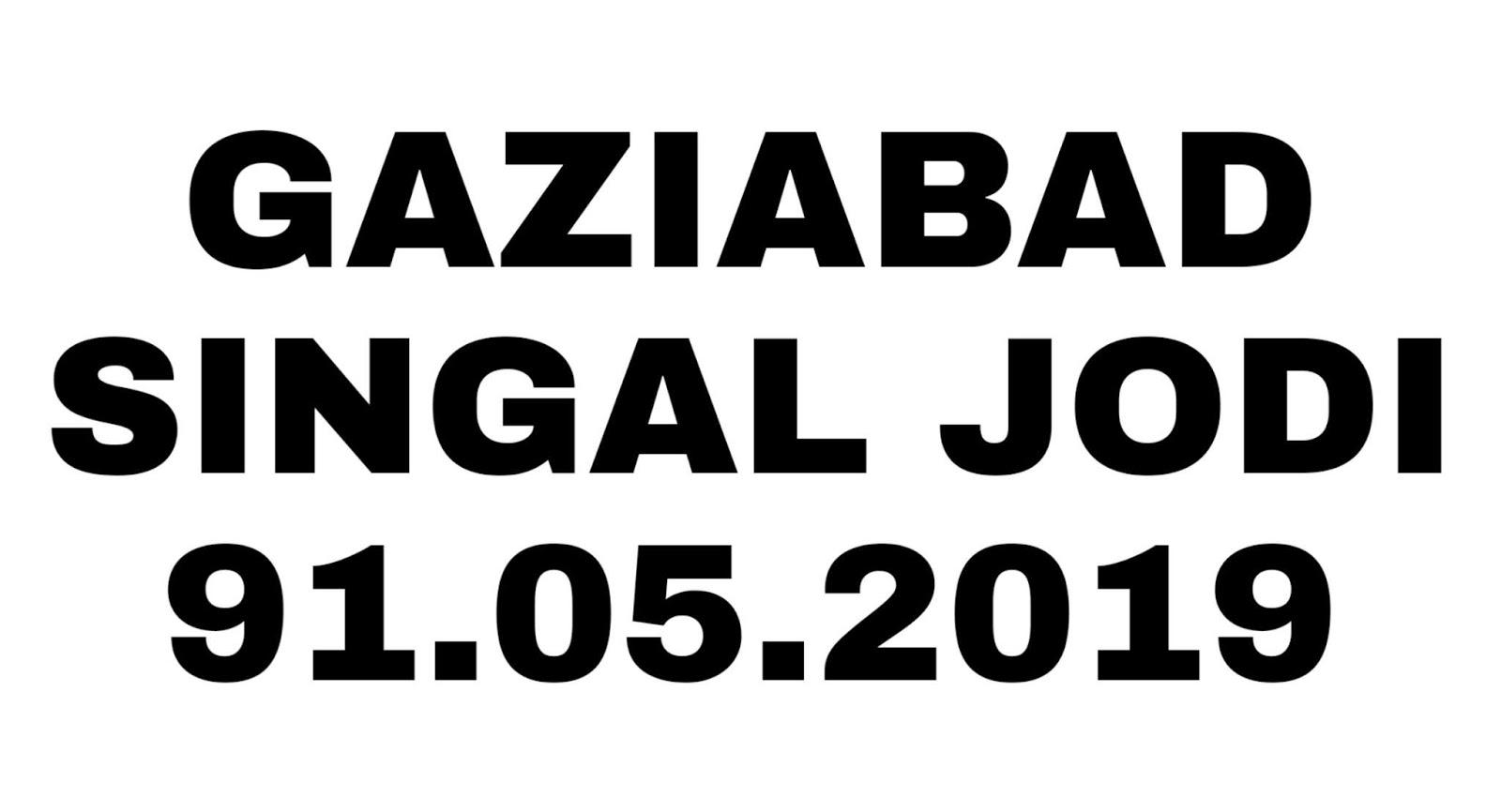 Satta King Ghaziabad Ki single jodi only Gaziabad live
