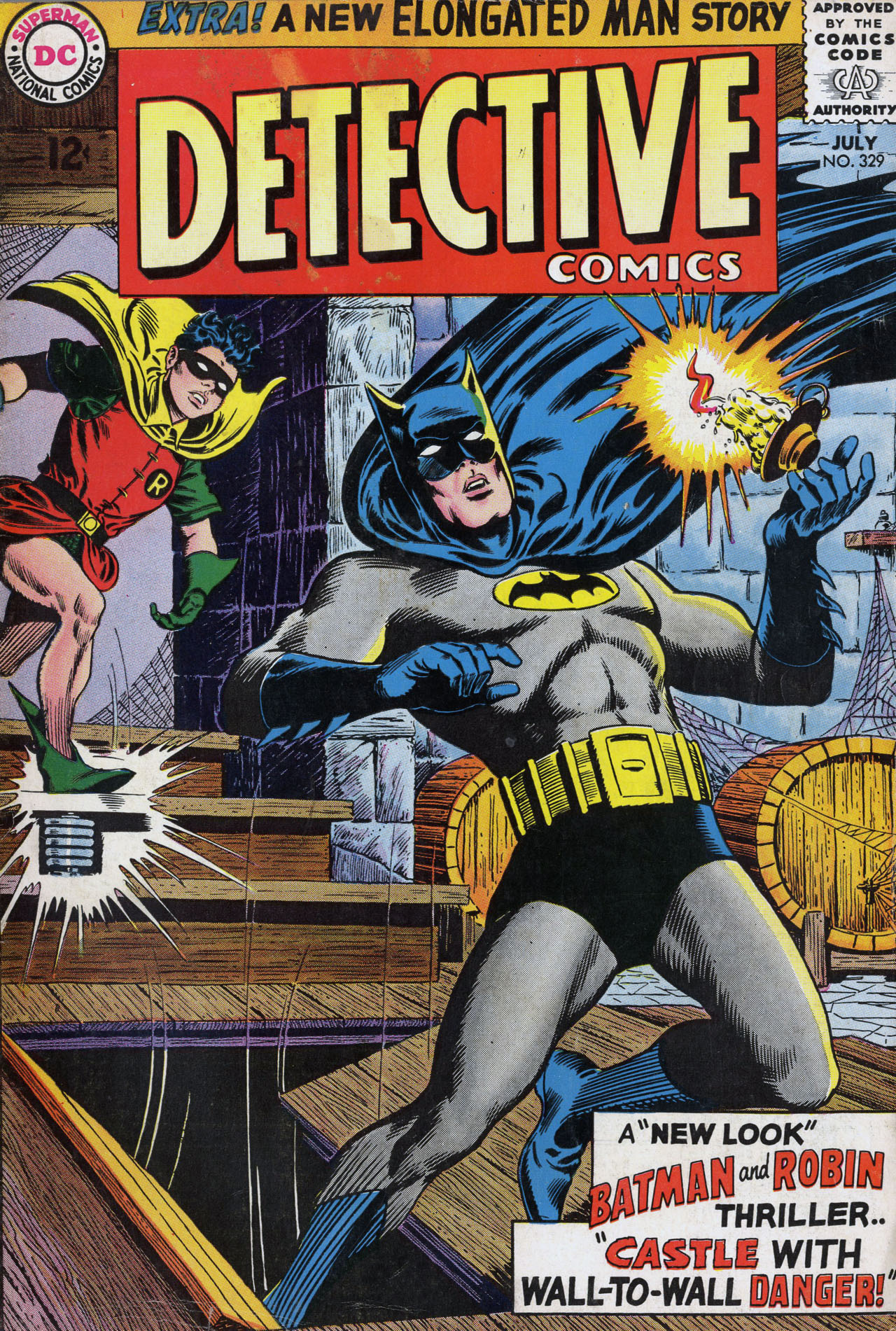 Detective Comics (1937) 329 Page 0
