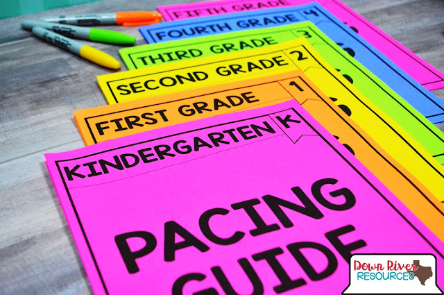 Texas teachers can use the TEKS Pacing Guides as a tool for helping them create their unique curriculum pacing guide!