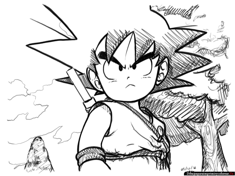 Blog MegaDiverso: Dragon Ball Para Colorear E Imprimir