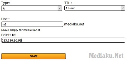 Name Server Sendiri ClouDNS