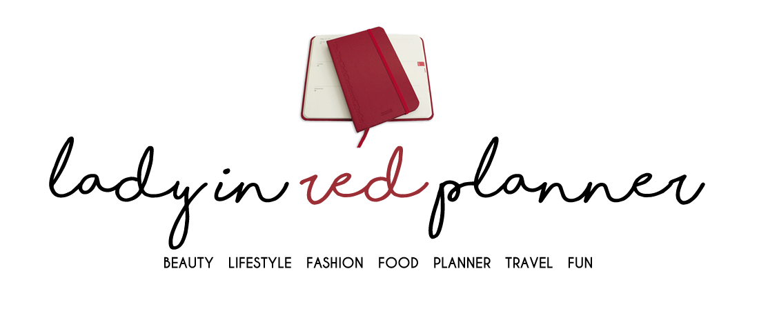 Blog Lady in Red Planner