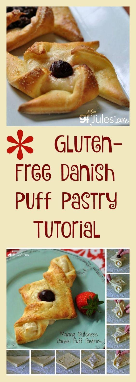 Gluten Free Danish Puff Pastry Recipe