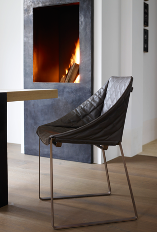 Modern luxury dining chair minimal sophisticated interior design by Piet Boon