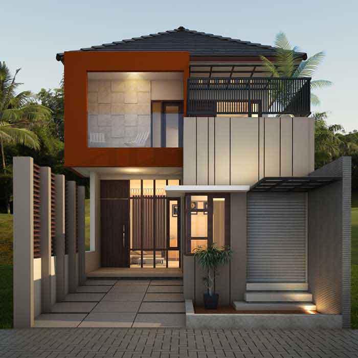 50 Model Desain Rumah Minimalis 2 Lantai | Desainrumahnya.com