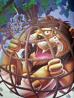 el leon y el raton samaniego