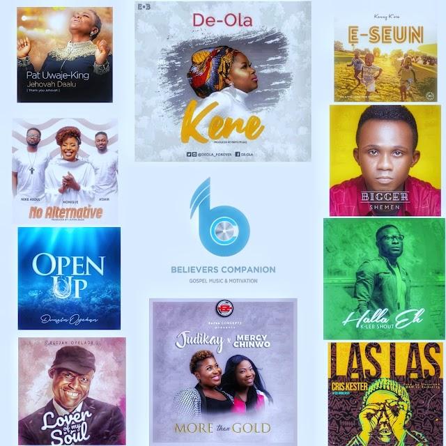 Believers Companion Top 10 Gospel Songs (March 2019) | #BelieversCompanion